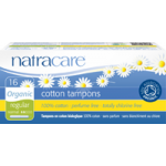 Tampons with Applicator by Natracare, Regular