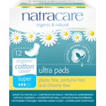 Ultra Pads with Wings by Natracare, Super