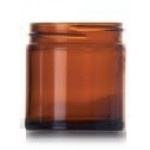Amber Glass Jar