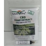 CBD Hemp Extract 17%CBD Paste Syringe  170mg (1g)
