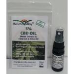 CBD Oil 5% CBD Spray 500mg (10ml)