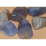 Golden Blue Chalcedony Tumblestone