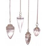 Rock Quartz Dowsing Pendulum