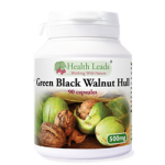 Green Black Walnut Hull Capsules - 500mg
