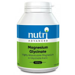 Magnesium Glycinate, High Strength by Nutri Advanced (120 tablets)