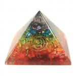 Orgonite Chakra Pyramid (Large)