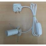 Spare Himalayan Salt Lamp Cord (Universal)