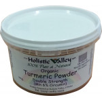Organically Sourced Turmeric Powder (High Strength - 6% Curcumin) - 100g