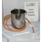 Stainless Steel Enema Can Kit (2 Litre)
